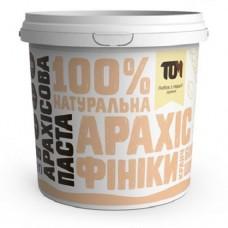 ТОМ Арахисовая паста кранч с белым шоколадом и финиками, 1000г