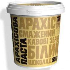 ТОМ Арахисовая паста с белым шоколадом и кофейными зернами, 500г
