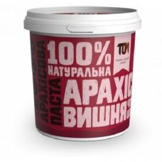 ТОМ Арахисовая паста с чёрным шоколадом и вишней, 500г
