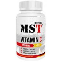 MST Vitamin C 1000 + D3 2000IU, 100 таб.