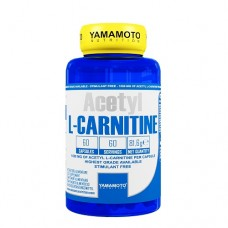 Yamamoto Nutrition Acetyl L-Carnitine 1000mg - 60 caps