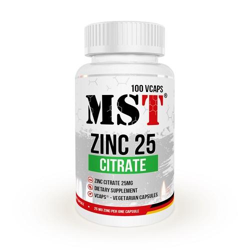 MST Zinc Citrate, 100 капс.