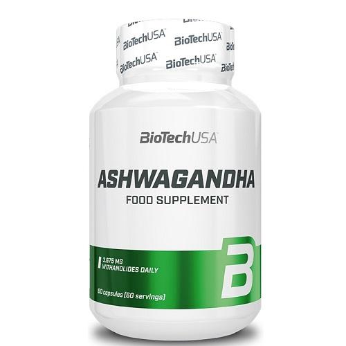 BiotechUSA Ashwagandha, 60 caps