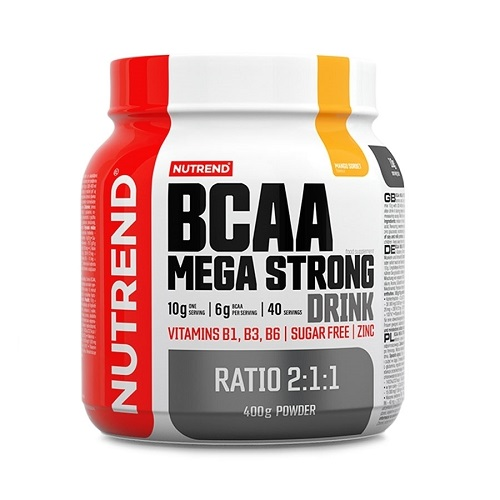 Nutrend BCAA Mega Strong Drink, 400 гр.