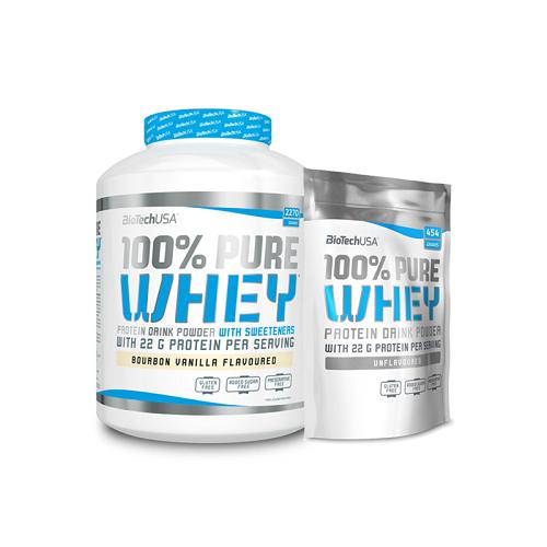 BiotechUSA 100% Pure Whey 2270g + 454g В ПОДАРОК