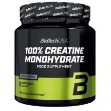 BiotechUSA 100% Creatine Monohydrate 500 g - банка