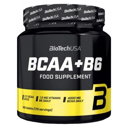 BiotechUSA BCAA+B6 340 tabs