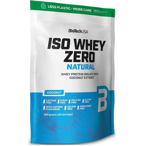 BiotechUSA IsoWhey Zero NATURAL, 500g