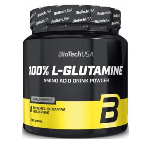 BiotechUSA 100% L-Glutamine 240 g