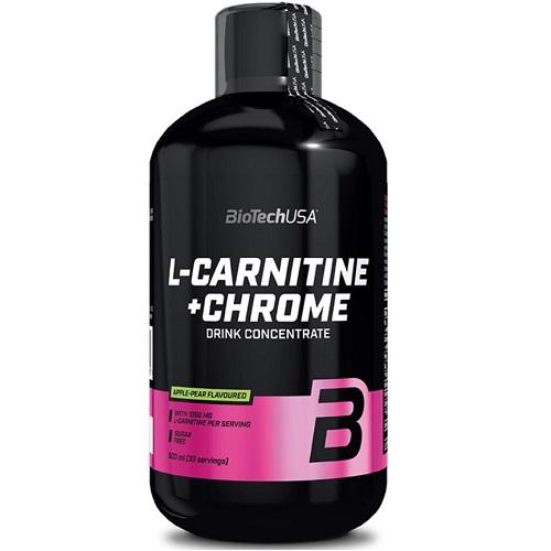 BiotechUSA L-Carnitine 35.000 mg + Chrome concentrate 500 ml
