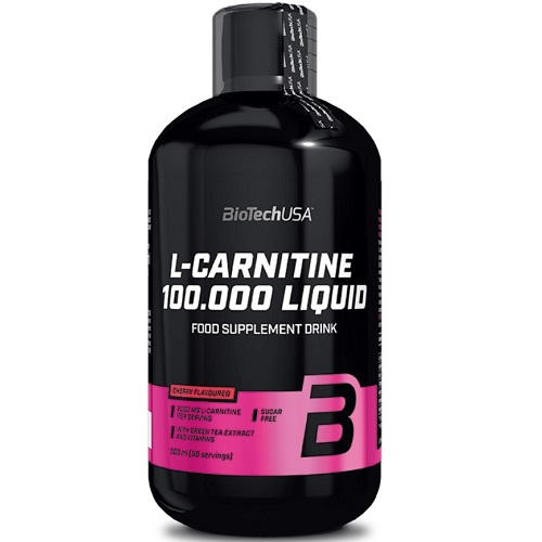BiotechUSA L-carnitine 100.000 Liquid 500 ml