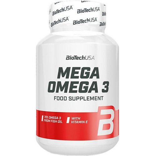 BiotechUSA Mega Omega 3, 90 soft gel caps