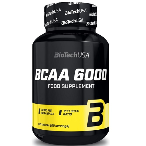 BiotechUSA BCAA 6000 100 tabs