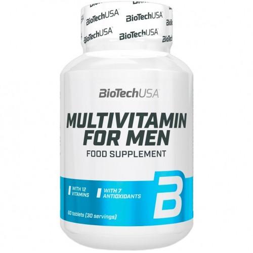 BiotechUSA Multivitamin for Men 60 tabs