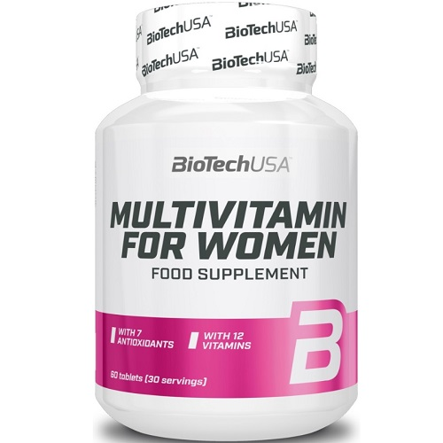 BiotechUSA Multivitamin for Women 60 tabs