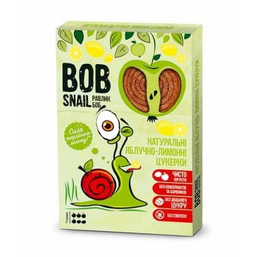 BOB SNAIL Натуральные Яблочно-Лимонные Конфеты, 60 г