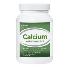 GNC CALCIUM PLUS WITH VITAMIN D3 120 tab