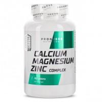 Progress Nutrition Calcium Magnesium Zink, 90 tab