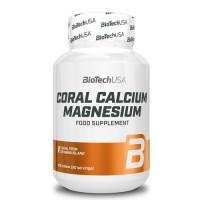 BiotechUSA Coral Calcium + Magnesium, 100 tab