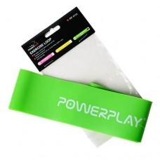 PowerPlay Лента-эспандер 4114 Medium (Зеленая)