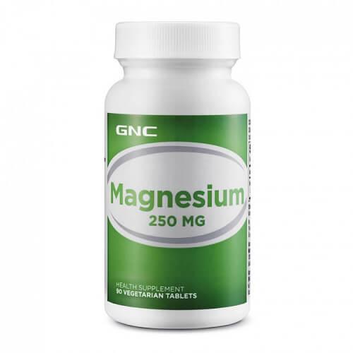 GNC Magnesium 250, 90 caps
