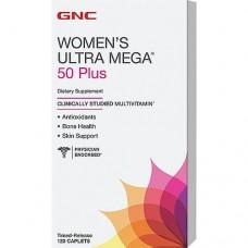 GNC WOMENS ULTRA MEGA 50+ One DAILY 120 caps