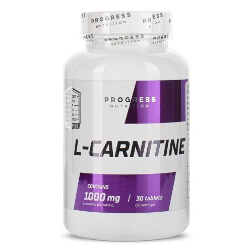 Progress Nutrition L-carnitine 1000 mg, 30 tabs