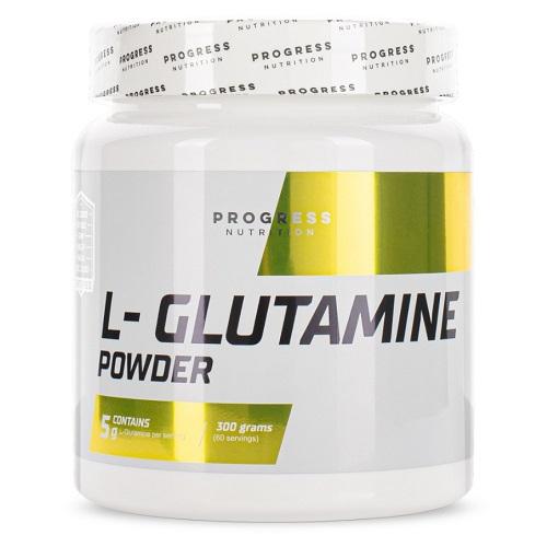 Progress Nutrition L-Glutamine powder, 300 g