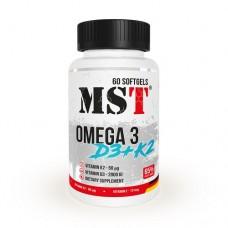 MSt Omega 3 + D3 + K2, 60 капс.