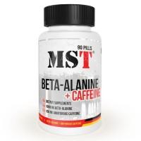 MST Beta Alanine + Caffeine, 90 таб.