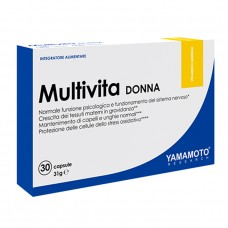 Yamamoto Multivita DONNA, 30 caps