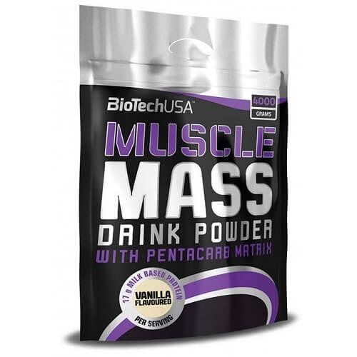 BiotechUSA MUSCLE Mass 4,0 kg