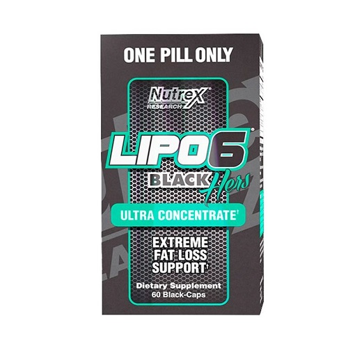 Nutrex Lipo-6 Black Hers Ultra Concentrate, 60 caps