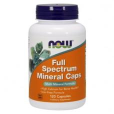 NOW Full Spectrum Mineral Caps, 120 капс.