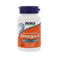 NOW Omega-3, 30 капс.