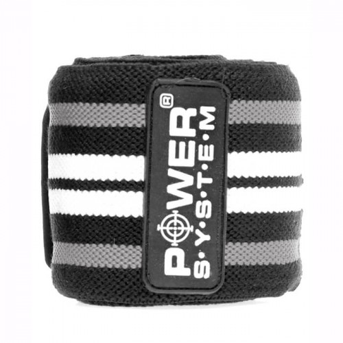 Power System Кистевые бинты  Wrist Wraps PS-3500 Серый