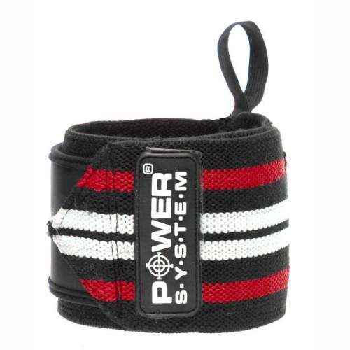 Power System Кистевые бинты Wrist Wraps PS-3500 Красный