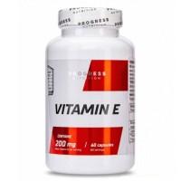 Progress Nutrition Vitamin E, 60 tab