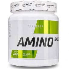 Progress Nutrition Amino 6400, 300 tab
