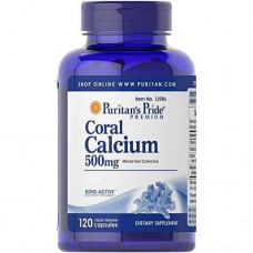 Puritan's Pride Coral Calcium 500mg - 120 caps