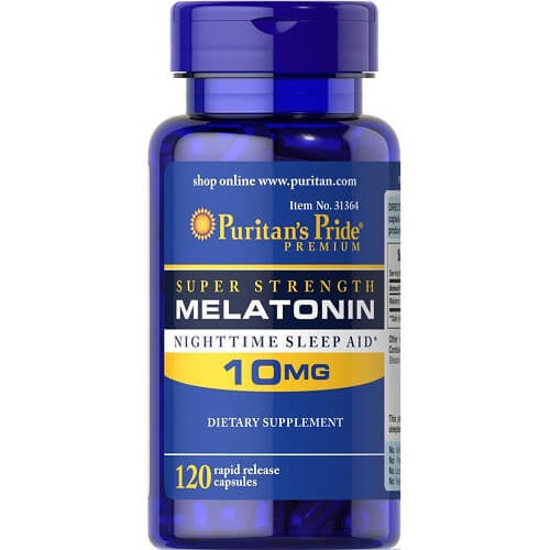 Puritan's Pride Melatonin 10 mg, 120 caps