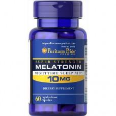 Puritan's Pride Melatonin 10 mg, 60 caps