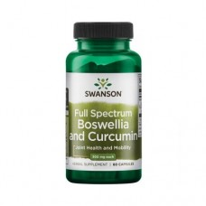 Swanson Boswellia and Curcumin, 60 капс.