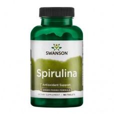 Swanson Spirulina 500 mg, 180 таб.