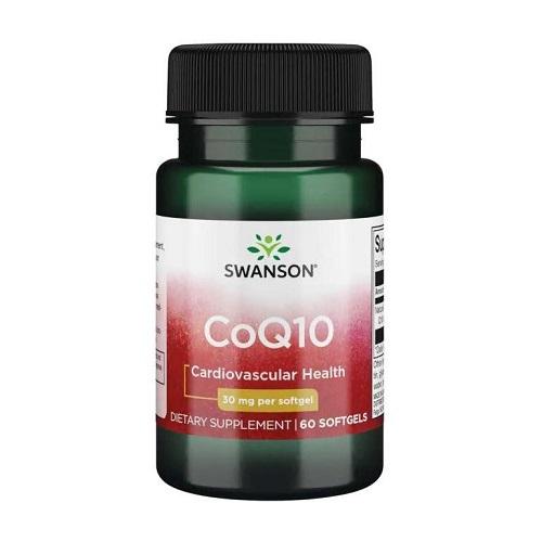 Swanson CoQ10 30 mg, 60 капс.
