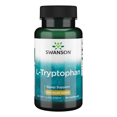 Swanson L-Tryptophan 500mg, 60 капс.