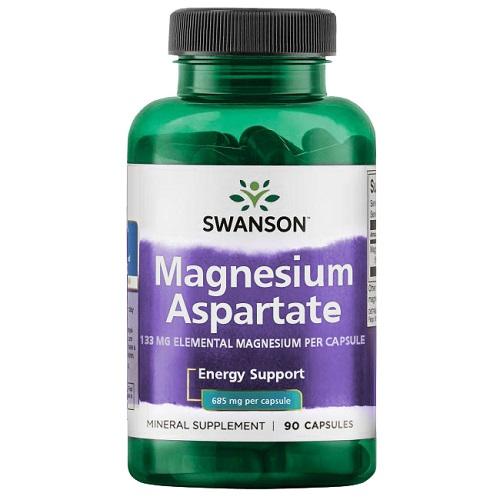 Swanson Magnesium Aspartate 685 mg, 90 капс.