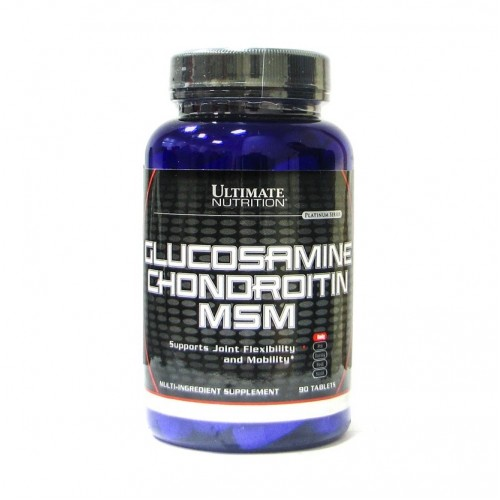 Ultimate Nutrition Glucosamine And Chondrotine And Msm 90 tab