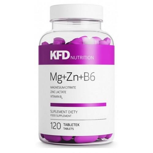 KFD ZMA Mg+Zn+B6 120 tabs