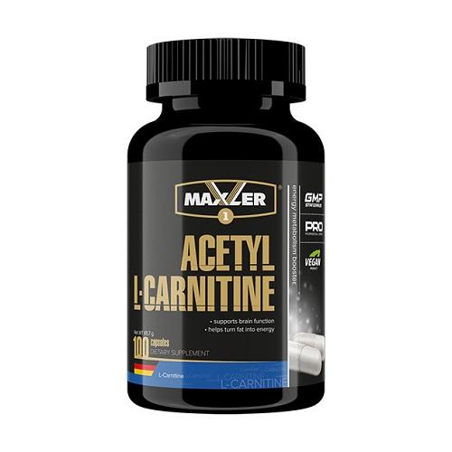 Maxler Acetyl L-Carnitine, 100 caps